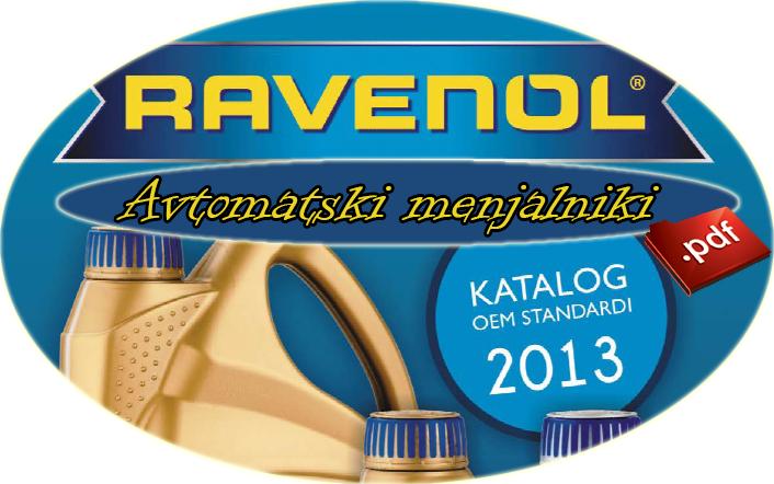 Ravenol OEM menjalniška olja